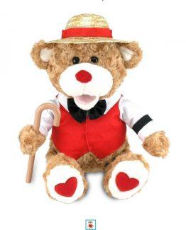 Cuddle-Barn-12-Valentines-Plush-Bear-B-Sharp-Sings-Book-of-Love-CB4523-301474876091