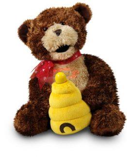 Cuddle-Barn-Valentine-Bear-Hunny-Sings-Sugar-Sugar-LED-Message-Plush-Toy-CB4550-290646014909