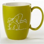 Enesco-Mamasana-Coffee-Tea-Drink-Mug-Mamas-Yoga-Pose-Mama-Garden-Chocolate-291313097221
