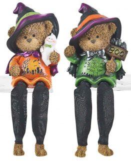 Ganz-Halloween-Bear-In-Witch-Hat-Shelf-Sitter-Figurine-EH28541-300952362047