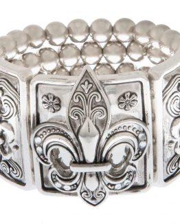 Ganz-Womens-Jewelry-Fleur-De-Lis-Bracelet-ER24578-291066958830