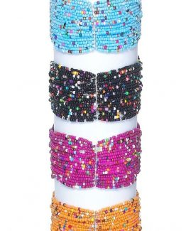 Ganz-Womens-Jewelry-Glass-Beaded-Bracelet-ER25586-301064448339