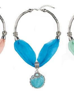 Ganz-Womens-Jewelry-Spring-Colors-Jewelled-Scarf-Necklace-With-Pendant-ER26578-301081943654