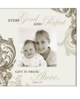 Havoc-Gifts-Baby-Keepsake-Every-Good-And-Perfect-Gift-Photo-Frame-Pkg-Defect-291180537436