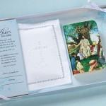 Lillian-Rose-Baby-Keepsake-White-Bible-WCotton-Cover-Set-24CO820-Giftbox-Damage-291090706956