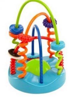 Mary-Meyer-Baby-Boy-Girl-Toys-OBALL-9-Soft-Sliding-Spirals-Chaser-81509-301019012739