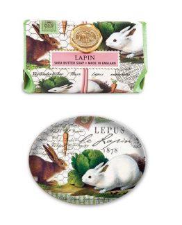 Michel-Design-Easter-Bath-Soap-Bar-OR-Soap-Dish-Bunnies-Lapin-171-301545289281