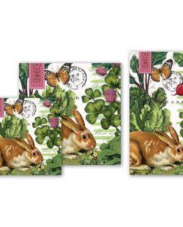 Michel-Design-Works-Easter-Kitchen-Dining-Party-Paper-Napkins-Garden-Bunny-250-301605879592