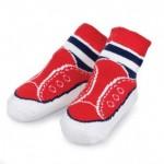 Mud-Pie-Baby-Boy-Little-Sport-Red-Sneaker-Shoe-Socks-No-Laces-0-12M-178516-301162224030