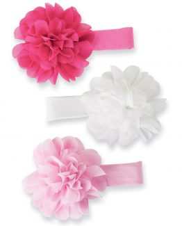 Mud-Pie-Baby-Girl-Chiffon-Flower-Soft-Headbands-Colors-Sold-Separately-176242-301566284845