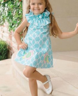 Mud-Pie-Baby-Girl-Easter-Spring-Blue-Little-Chick-Dress-Sizes-1142101-301084872442