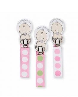 Mud-Pie-Baby-Girl-Polka-Dot-Pacy-Pacifier-Clip-3-asst-Sold-Separately-173138-290950841253