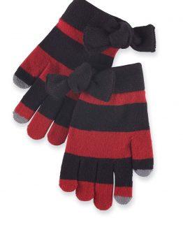 Mud-Pie-BurgundyBlack-Like-University-of-South-Carolina-Gloves-860A044BUBK-300964774647