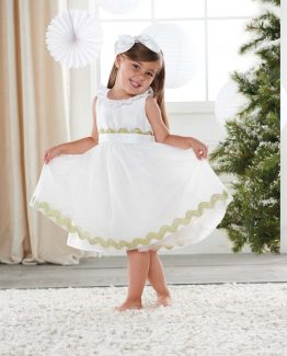 Mud-Pie-Christmas-Eve-Baby-Girl-Toddler-Ivory-Angel-Holiday-Dress-114A005-290981778146