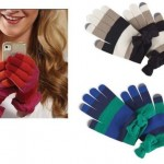 Mud-Pie-Holiday-Stripes-Womens-Lucy-Bow-Smart-Screen-Texting-Gloves-860A007-290972530164