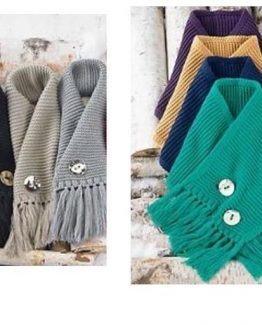 Mud-Pie-Holiday-Womens-Winter-Warm-Up-Ellie-Convertible-Button-Scarf-860A016-300971135333