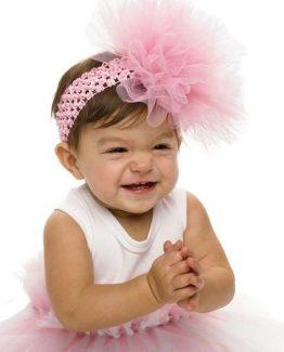 Mud-Pie-Little-Girl-Baby-Pretty-In-Pink-Ballerina-Pink-Puff-Headband-171938-290699404332