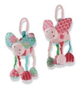 Mud-Pie-Spring-Garden-Baby-Girl-Lady-Bug-Plush-Stroller-Buddy-Toy-2112201-291409894947
