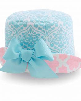 Mud-Pie-Spring-Little-Chick-Baby-Girl-Pink-And-Blue-Sun-Hat-With-Bow-1502120-291112927272