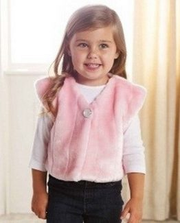 Mud-Pie-Supplement-Pretty-in-Pink-Baby-Girl-Pink-Fur-Vest-Multiple-Sizes-176188-290811047816