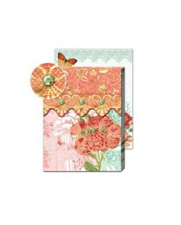 Punch-Studio-Everyday-Patchwork-Collage-Notepads-Coral-Rose-56329-290734894126