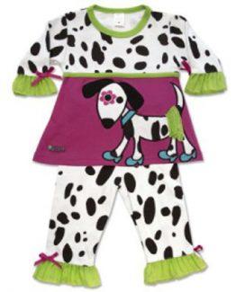 SOZO-Baby-Girl-2-Piece-Dalmatian-Dress-Legging-Set-GDALLD-301589341092