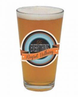 Santa-Barbara-Barstool-Philosopher-Regret-Nothing-Beer-Pint-Glass-PNT-1310F-291252186406