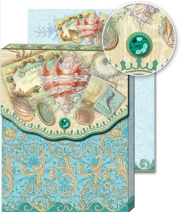 Punch Studio E7 Pocket Note Pad Glitter & Stones Series Choose ...