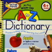 My First Wipe-Off A to Z Dictionary
