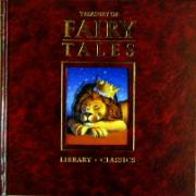 Treasury of Fairy Tales Stories Leather Cover Book