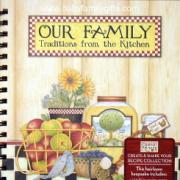 Our Family Traditions From the Kitchen Recipe Keeper by Debbie Mumm
