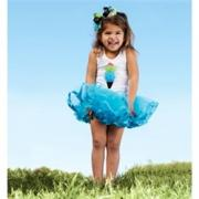 Mud Pie Wild Child Girl Giraffe Tutu Dress (12-18M)