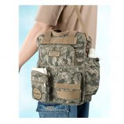 Military Daddy Diaper Bag Camouflage by Lillian Rose