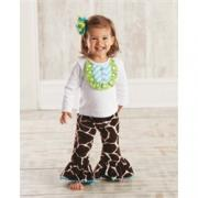 Mud Pie Wild Child Adorable Giraffe Disco Set (0-6M) - 190131