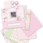 Little House Baby Girl Scrapbook Kit