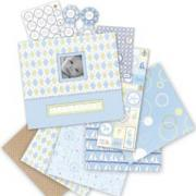 Little House Baby Boy Scrapbook Kit