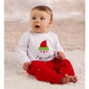 Mud Pie I Believe Adorable Baby Boy I Believe Santa 2-Piece Set(9-12M) - 130266-12